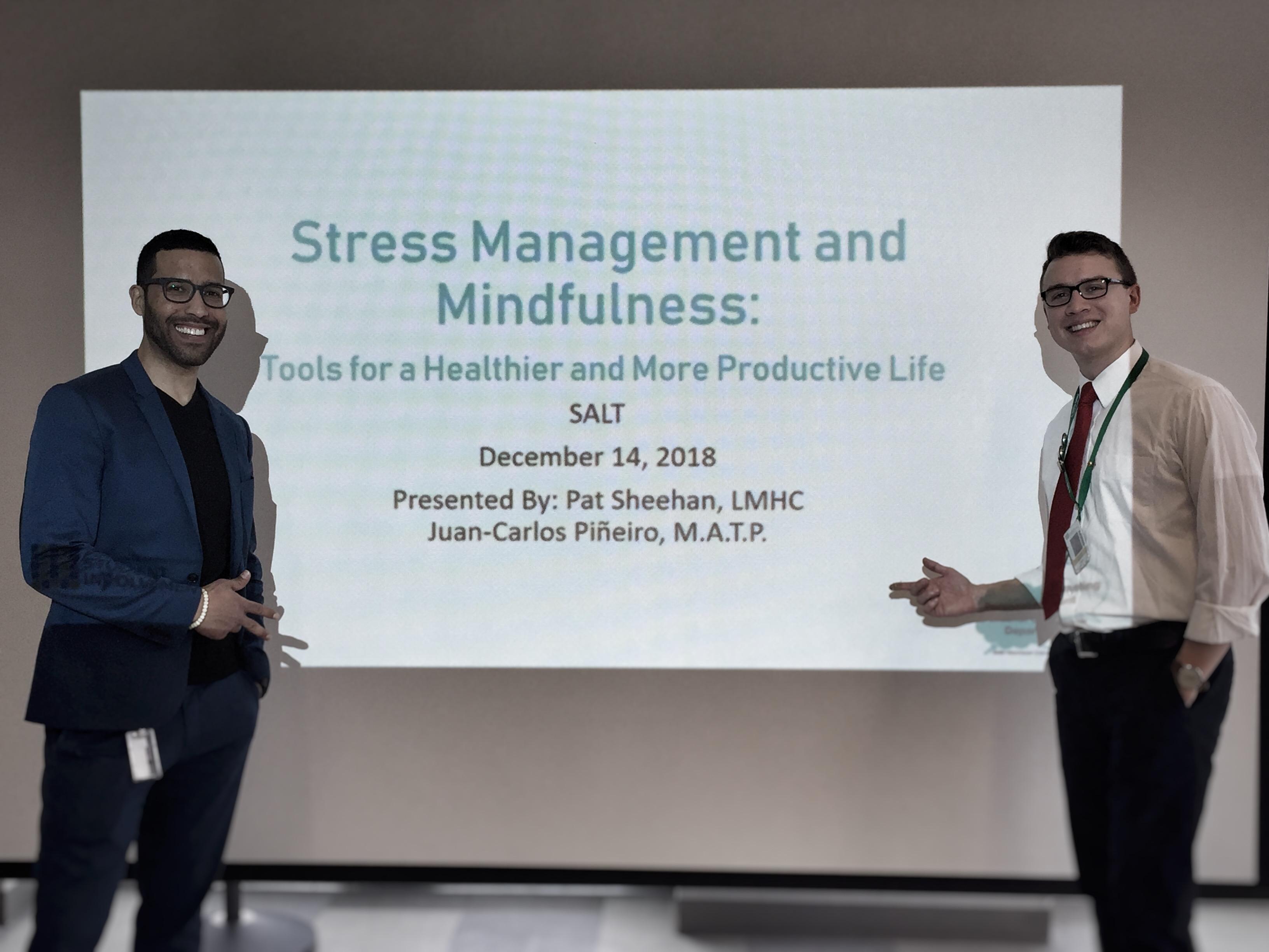 Mindfulness & Stress Reduction Workshop